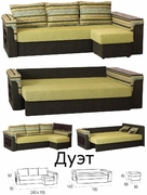 Угловой диван Дуэт