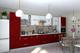 Кухня Гламур Бордо глянец