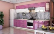 Кухня Гламур Лиловый металлик